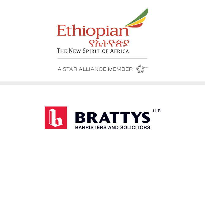 Ethiopian Airlines and Brattys LLP Logos