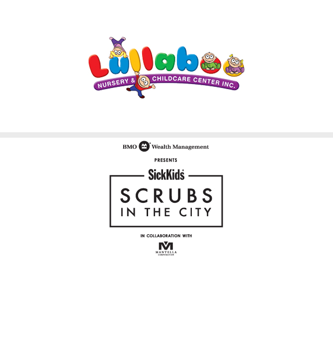 Lullaboo and Scrubs in the City logos