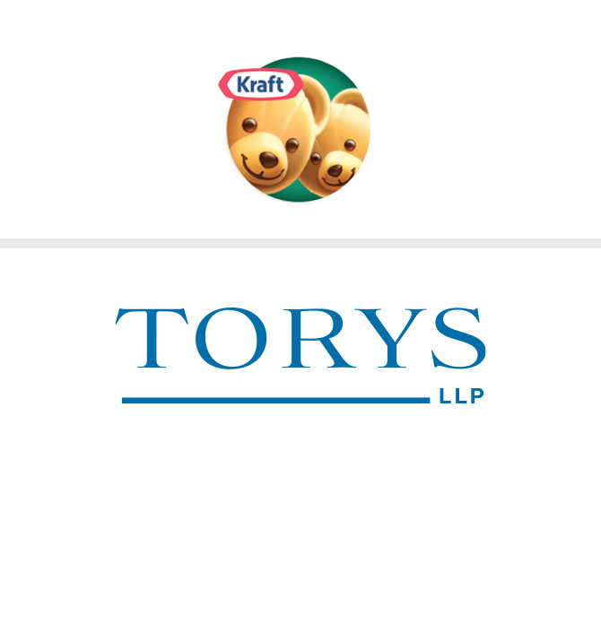 KRAFT Peanut Butter and Torys LLP Logos