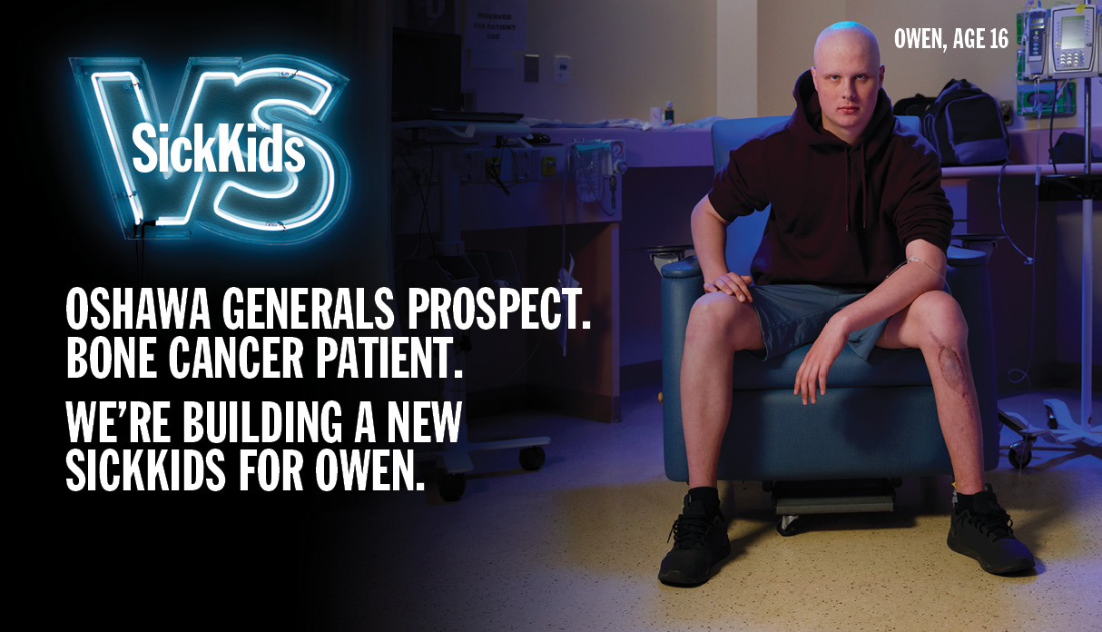 OWEN IS WHY WE FIGHT. BUILDTHENEWSICKKIDS.CA