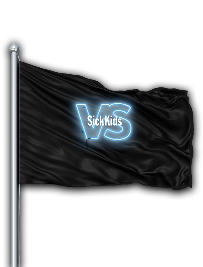 SickKids VS flag