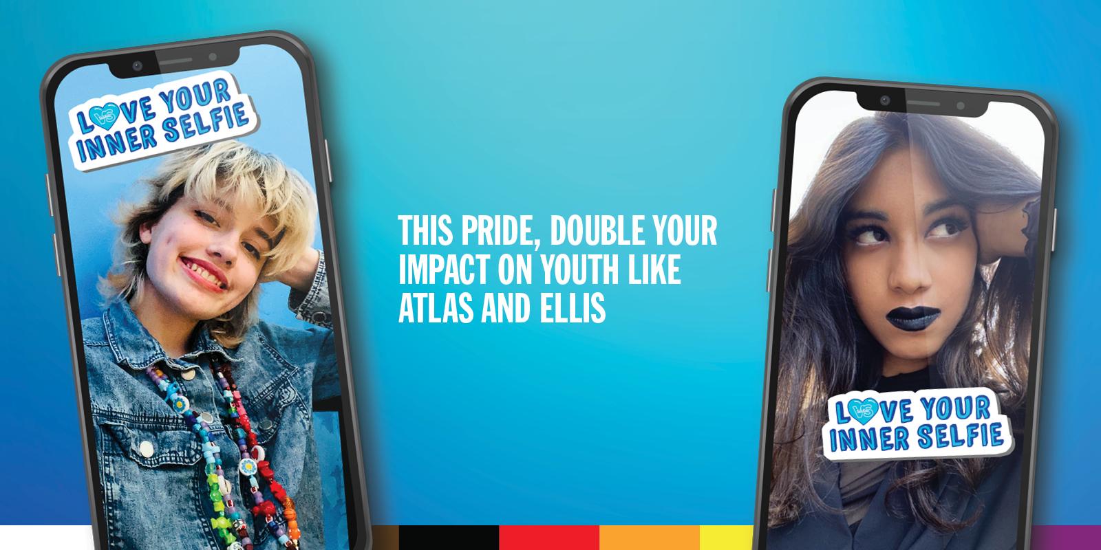 atlas, ellis, pride, sickkids patient, love your inner selfie